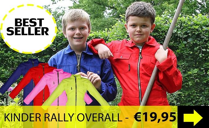 Kinder Rally Overall kopen? Bekijk de online collectie Storvik kinder overalls hier!