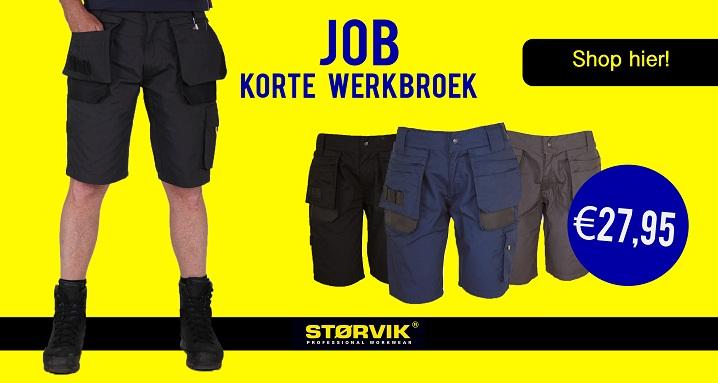 Korte Werkbroek Kopen? - €27,95
