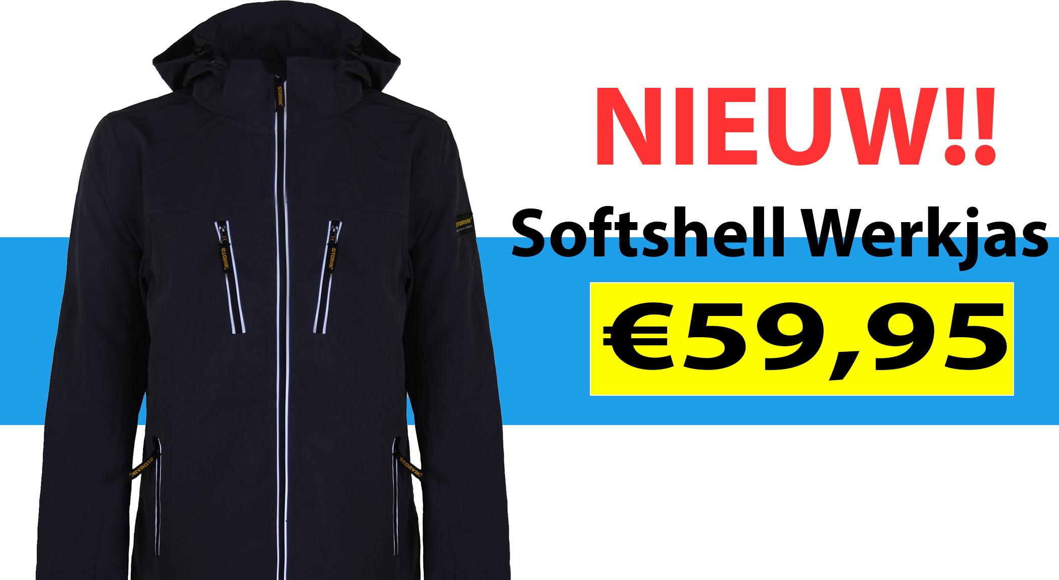 Softshell Werkjas kopen? - Nieuw! - Storvik.nl