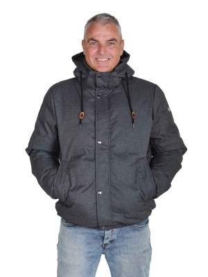 STØRVIK Winterjas Heren Warm gewatteerd Antraciet - S-6XL - MARCO