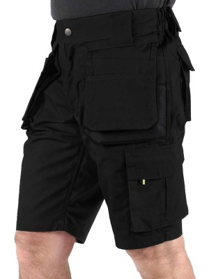 STØRVIK Korte Werkbroek Short Zwart - XS-3XL - JOB