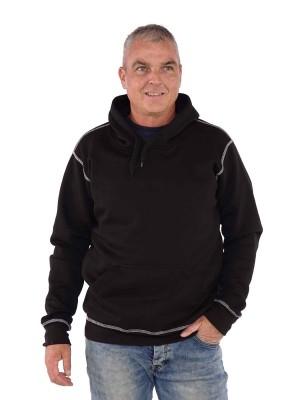 Storvik Hooded Sweater Zwart - Hedmark