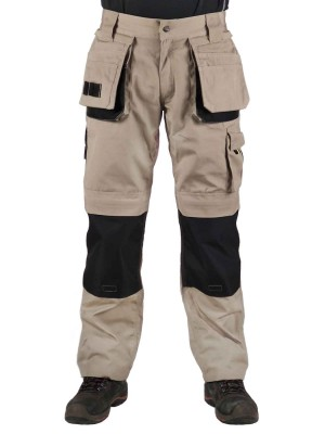 STØRVIK Werkbroek Khaki - XS-3XL - DAVID
