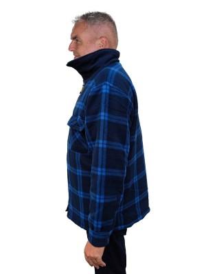 STØRVIK Thermoblouse Zeer warm Donkerblauw - M -3XL - STANLEY
