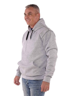 Storvik Hooded Sweater Grijs - Hedmark