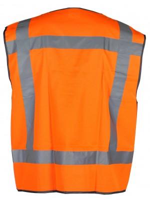 Oranje reflecterend veiligheidshesje