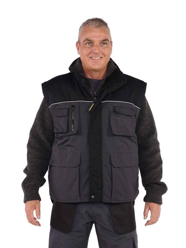 Storvik Bodywarmer Grijs/Zwart - Aron