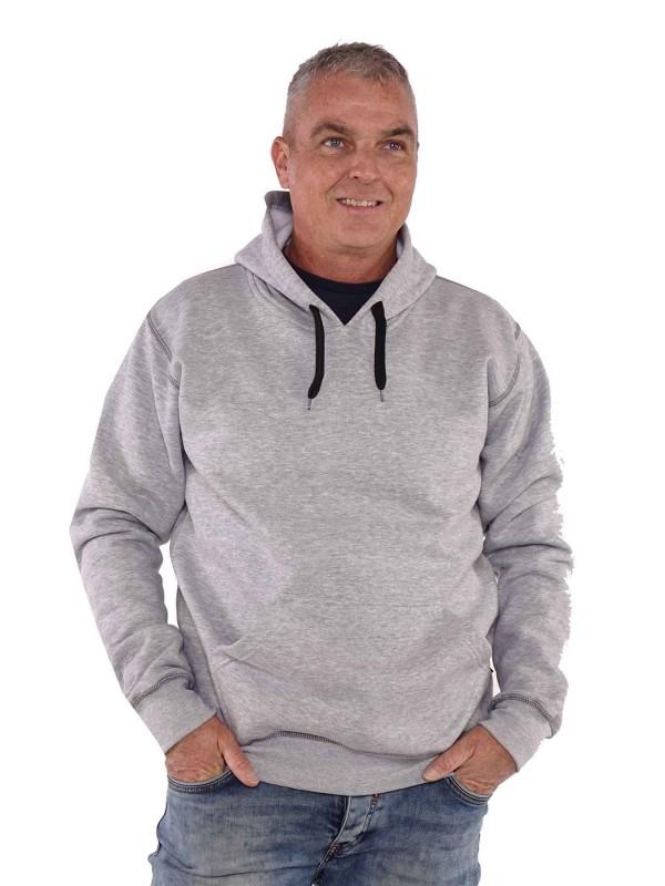 Storvik Hooded Sweater Grijs - Hedmark