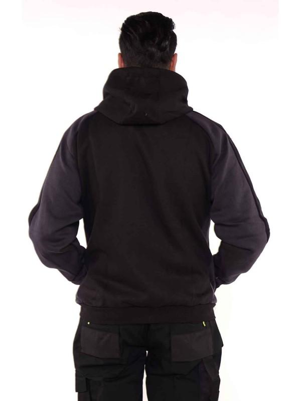Storvik zwart capuchon vest - Frank