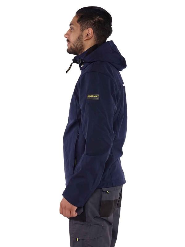 Storvik  Softshell Werkjas Donkerblauw - Napier