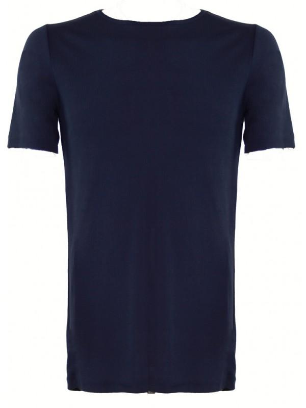 Donkerblauw thermoshirt