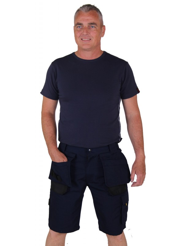 Storvik korte werkbroek Donkerblauw - Job