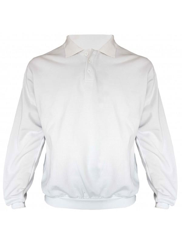 STØRVIK Schilders Polo Sweater 4 Seizoenen Wit - S-3XL - NAPOLI