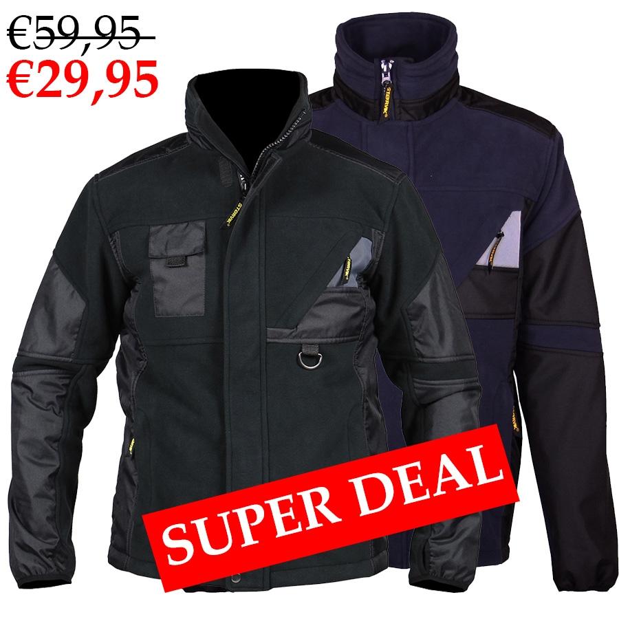 Winddichte Softshell Werkjas - van €59,95 voor €29,95 - Super Deal!