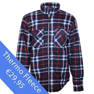 Thermo vest fleece of katoen als werkkleding?