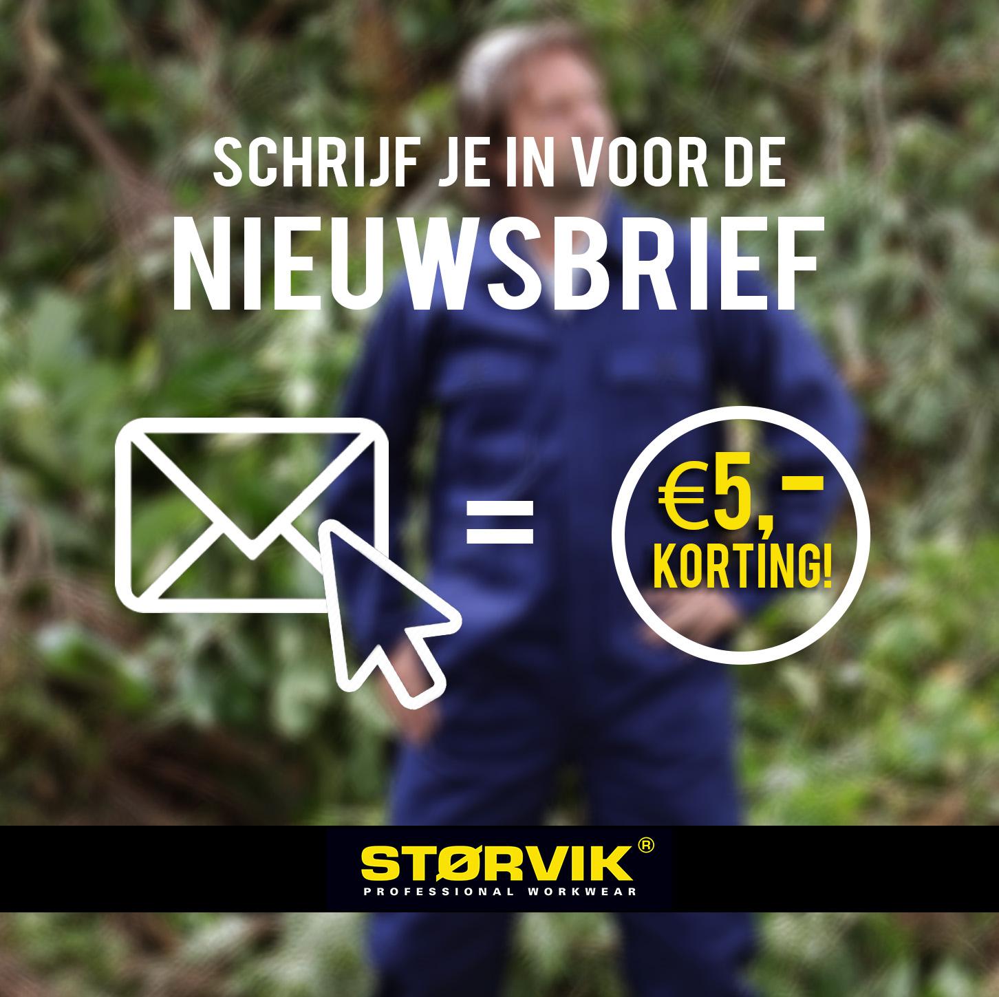 Schrijf je in voor de nieuwsbrief en ontvang €5,00 korting!