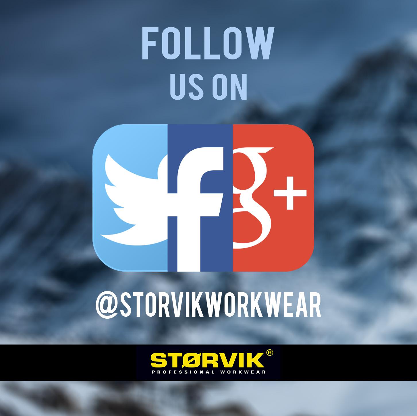 Volg Storvik op Social Media! Klik hier!